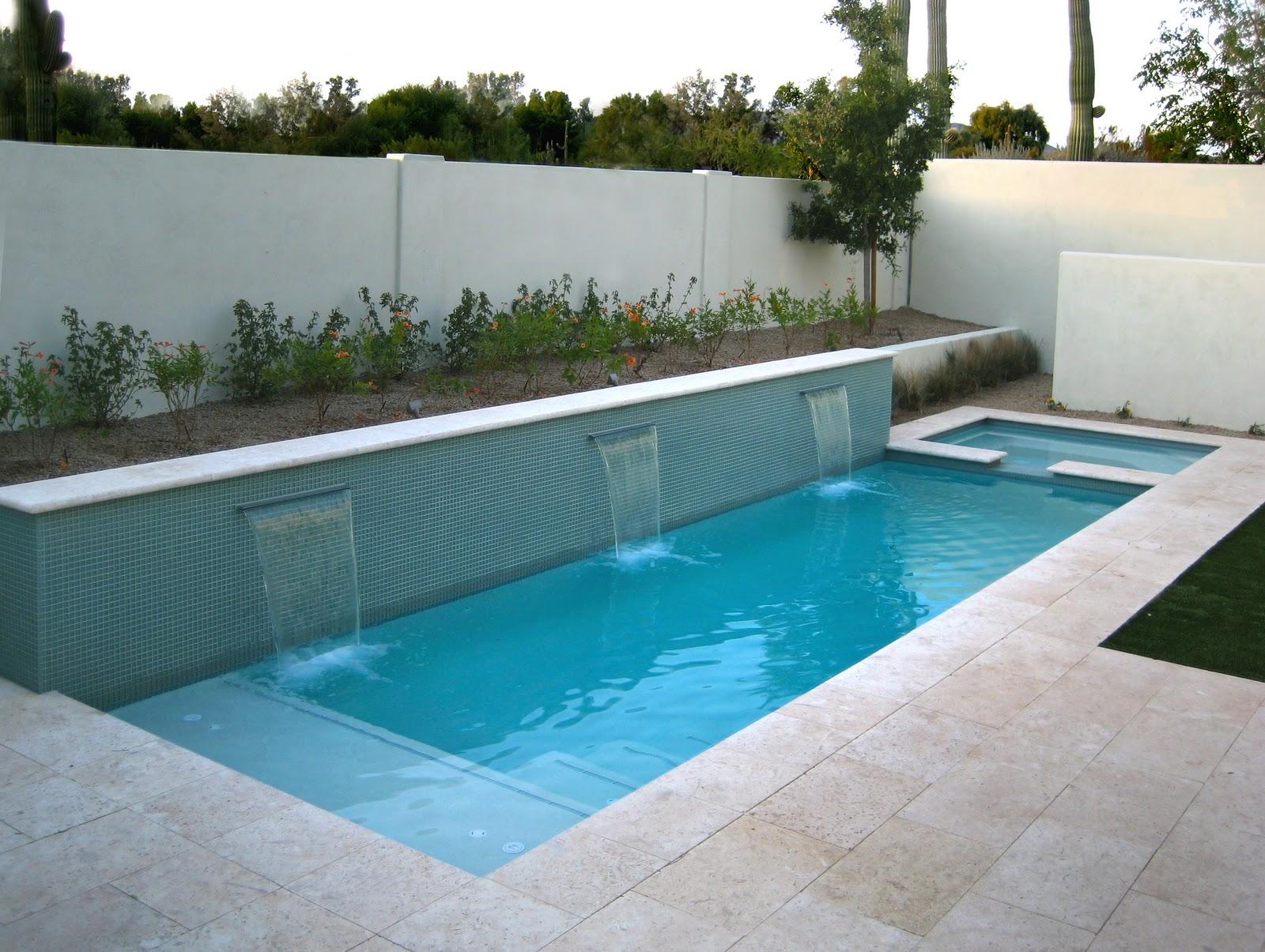 backyard swimming pool designs photo - 10