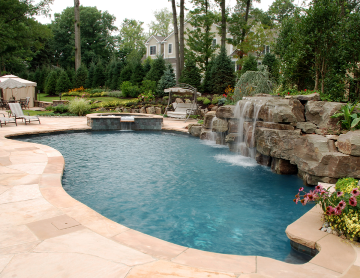 backyard swimming pool designs photo - 3