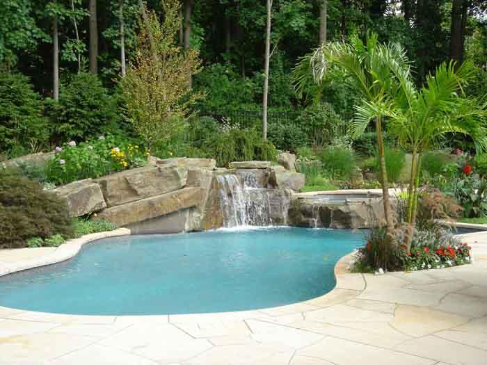 backyard swimming pool designs photo - 7
