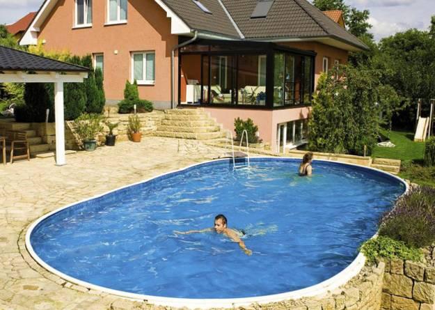 backyard swimming pool designs photo - 8