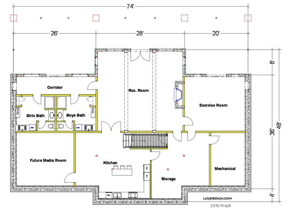 basement floor plans ideas free photo - 3