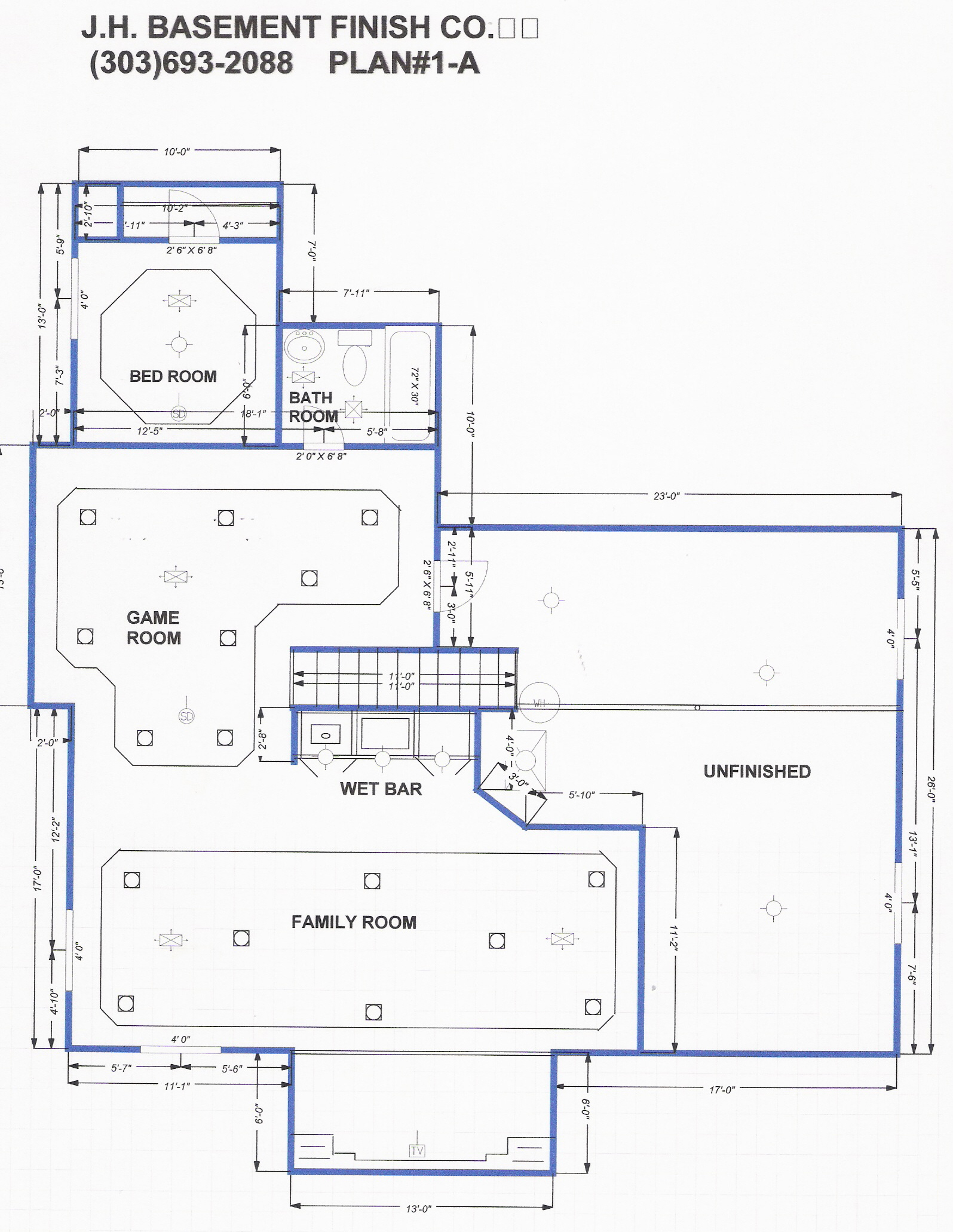 basement floor plans ideas free photo - 7