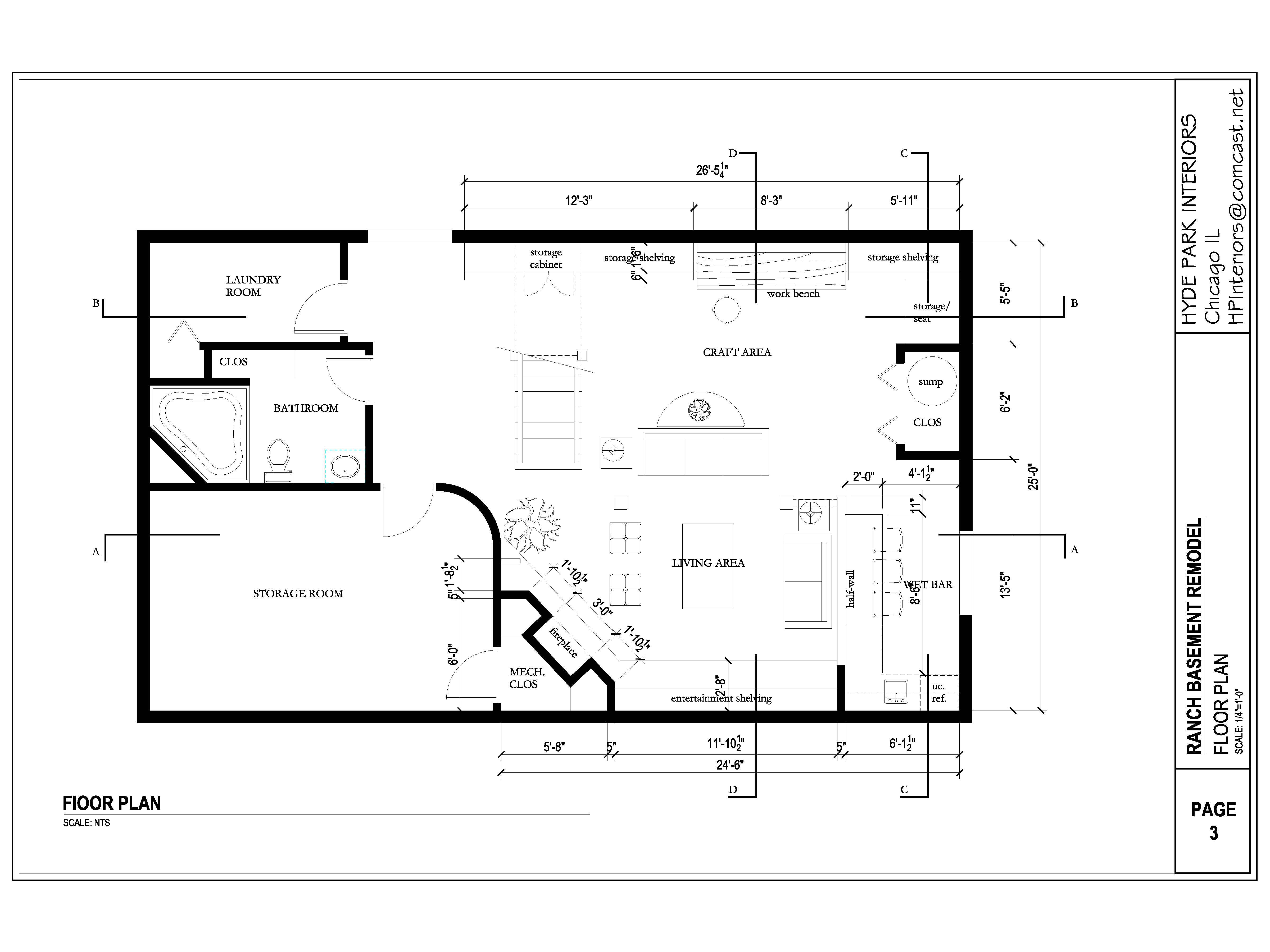 basement layout plans ideas