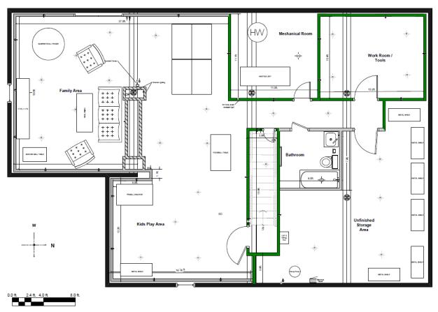 basement layout plans ideas photo - 2