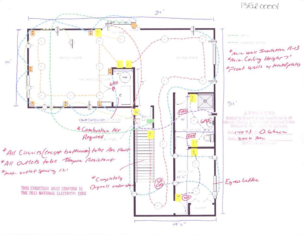 basement layout plans ideas photo - 3