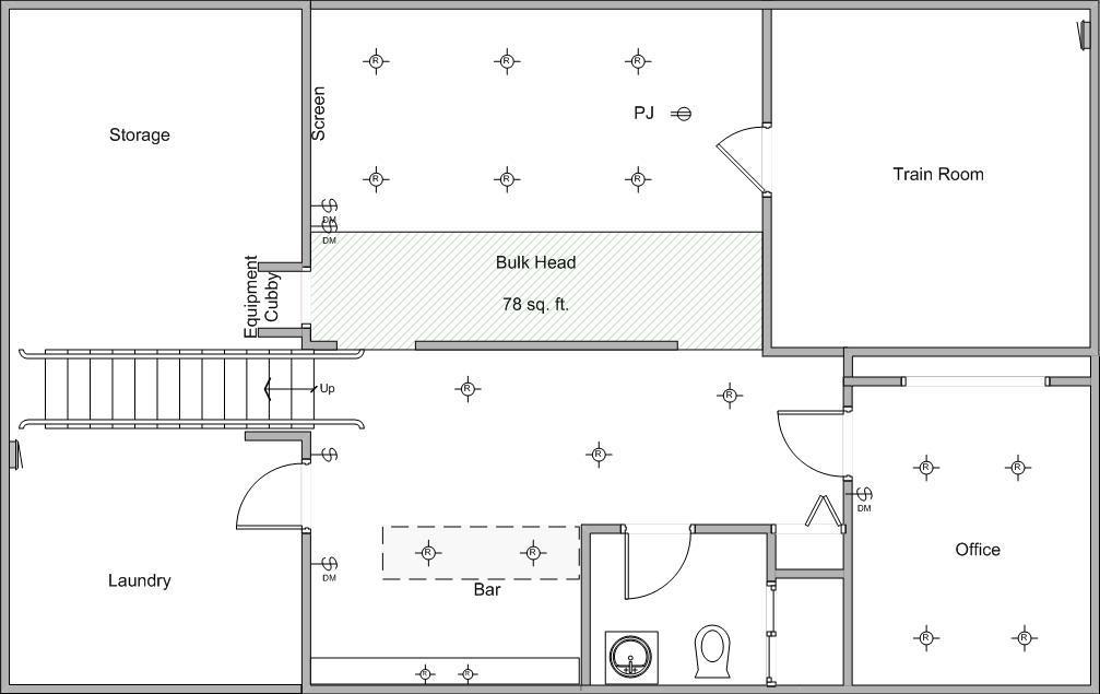basement layout plans ideas photo - 8