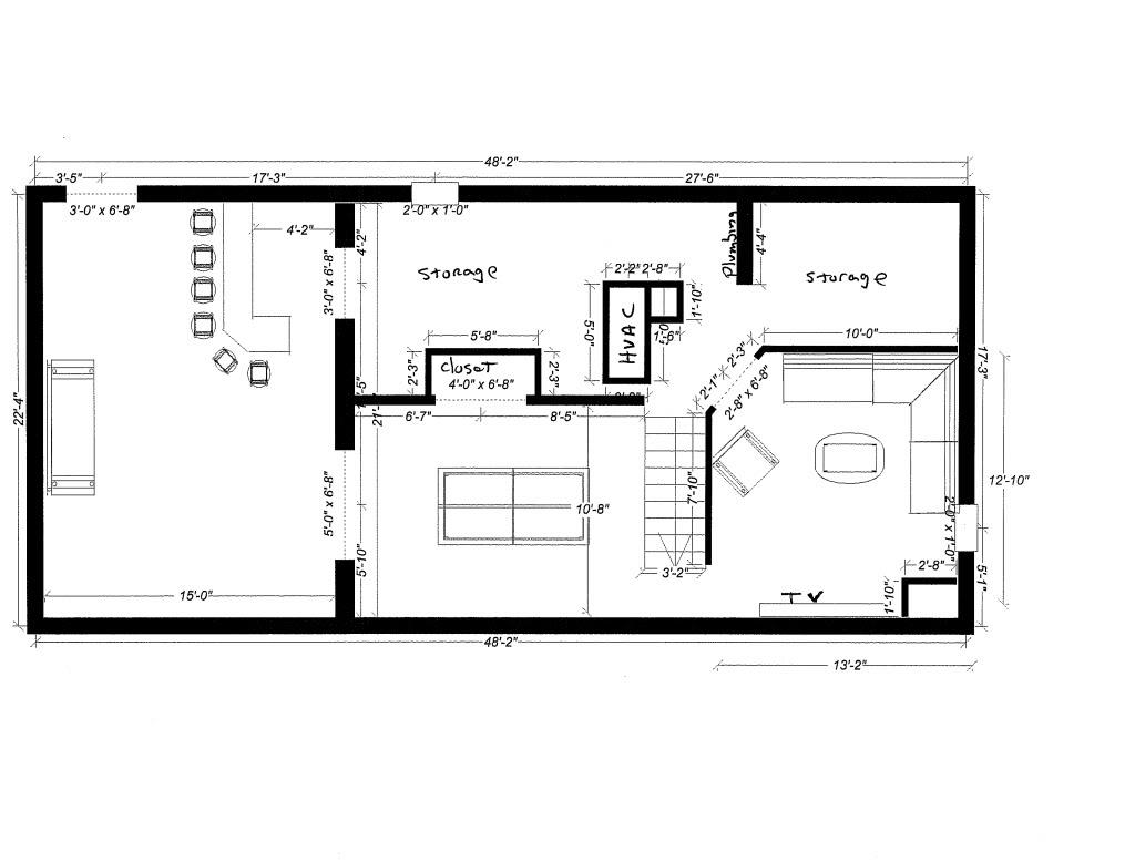 basement layout plans ideas photo - 9