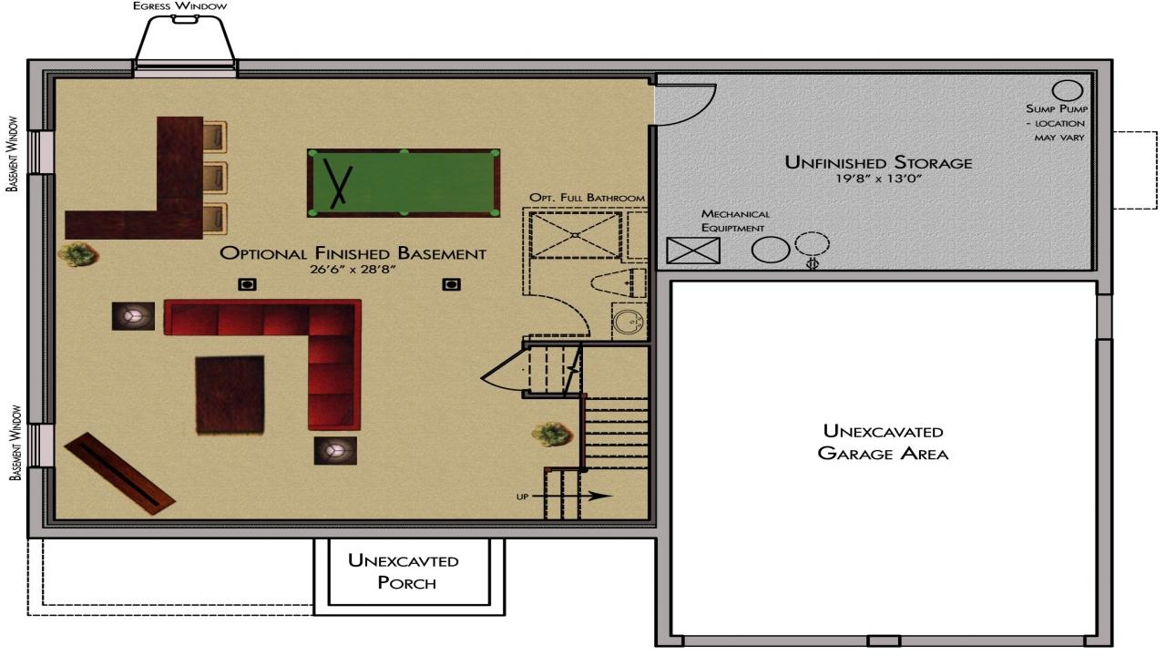 basement plans ideas photo - 2