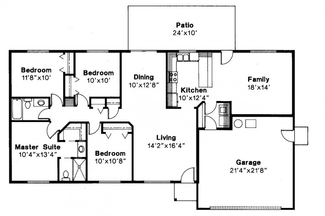 basement plans ideas photo - 4