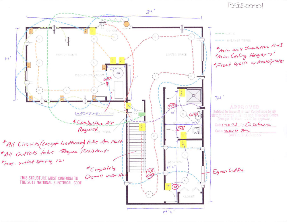 basement plans ideas photo - 5
