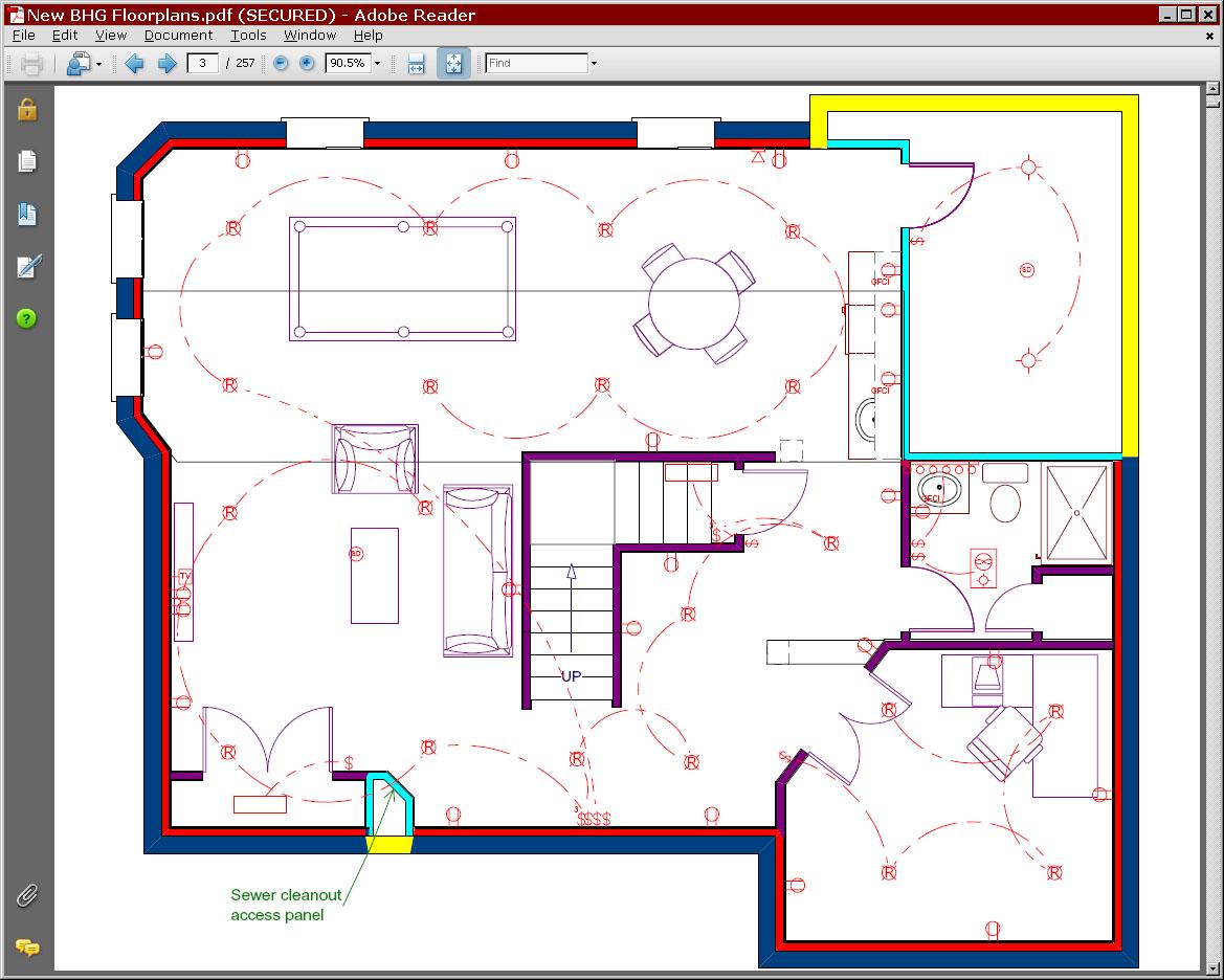 basement plans ideas photo - 6