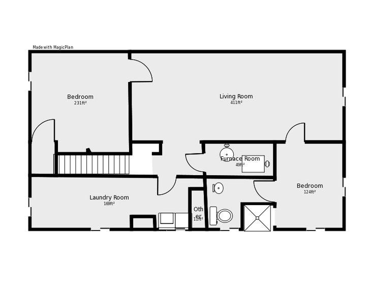basement plans ideas photo - 8