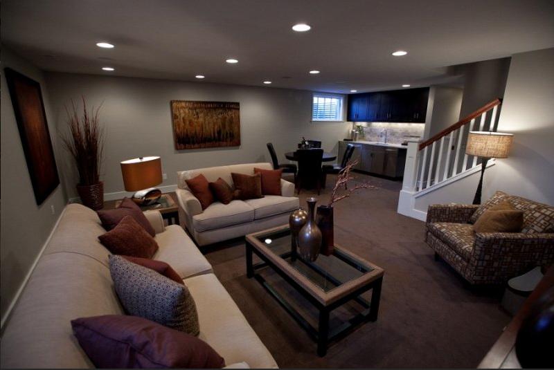 basement remodel ideas plans photo - 2