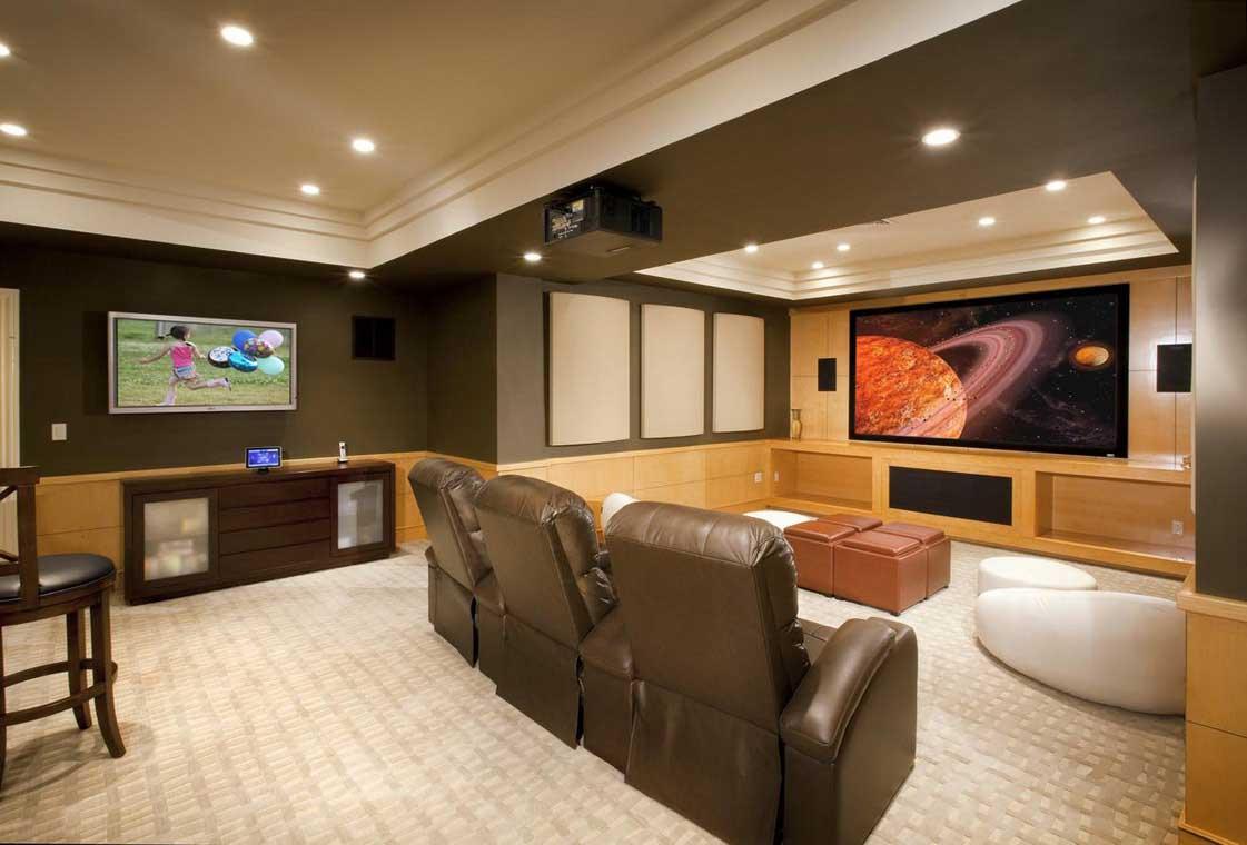 basement remodel ideas plans photo - 4