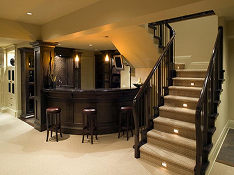 basement remodel ideas plans photo - 6