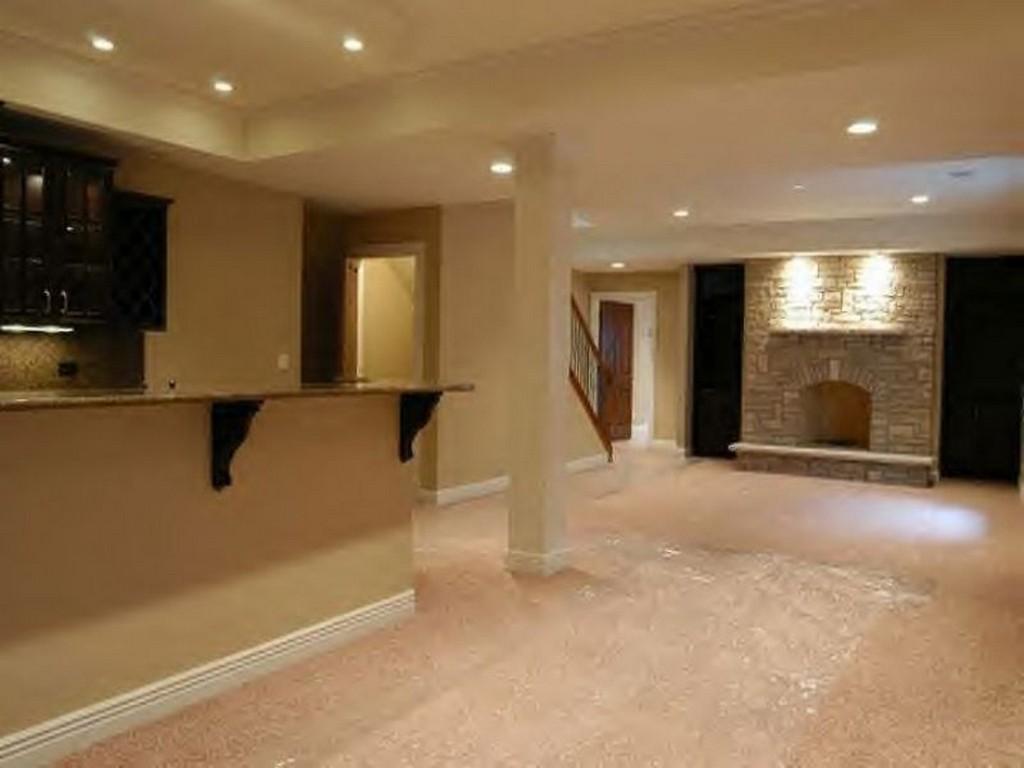 basement remodel ideas plans photo - 7