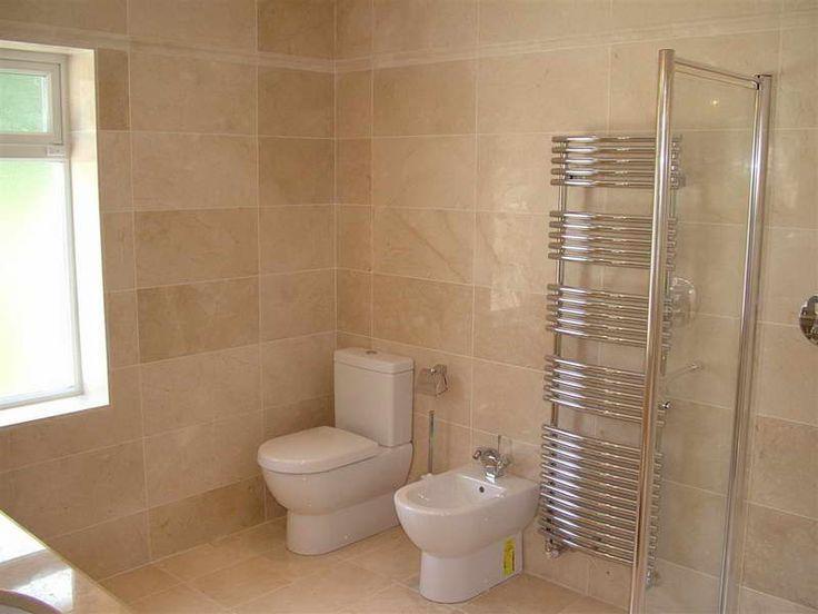 bathroom designs no tiles photo - 5