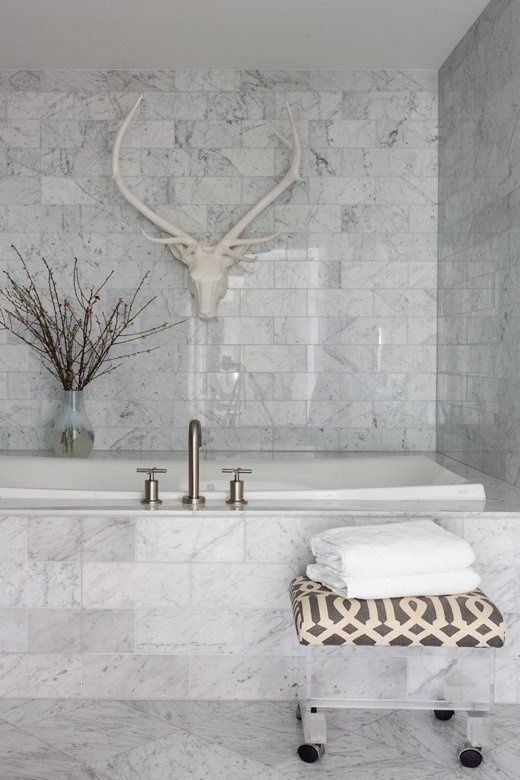 bathroom designs with marble tiles photo - 3