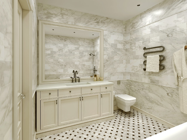 bathroom designs with marble tiles photo - 9