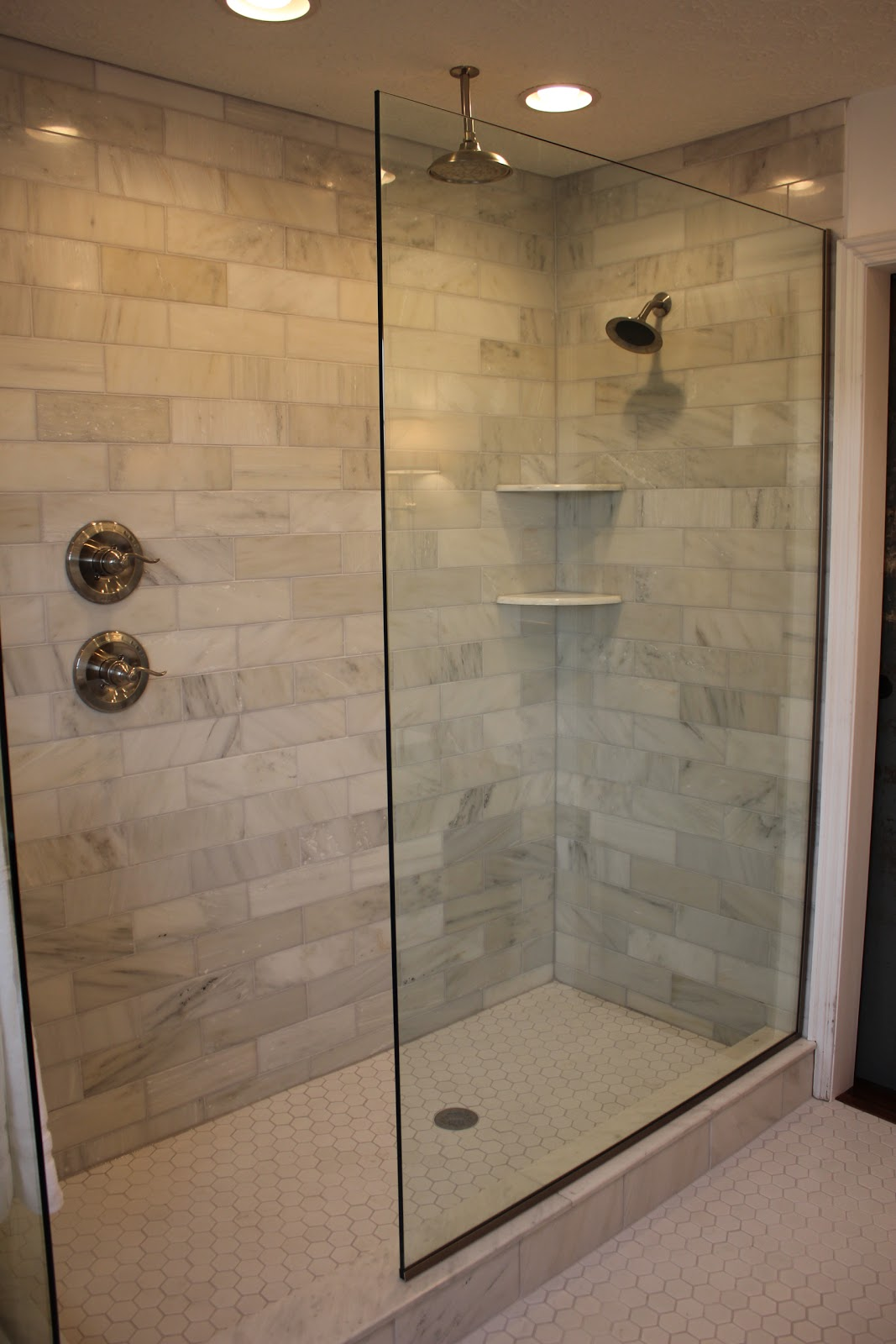 bathroom tile designs glass photo - 8