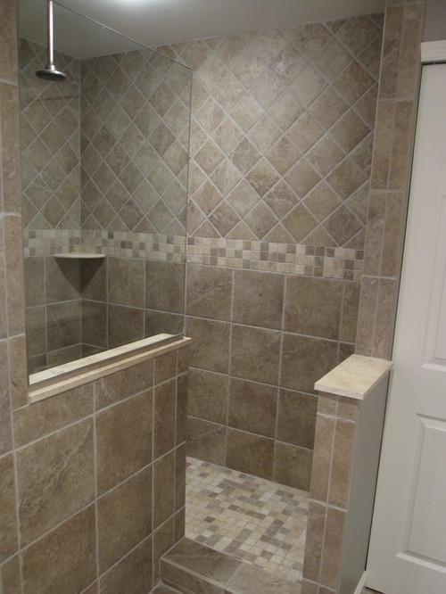 bathroom tile designs layout photo - 1