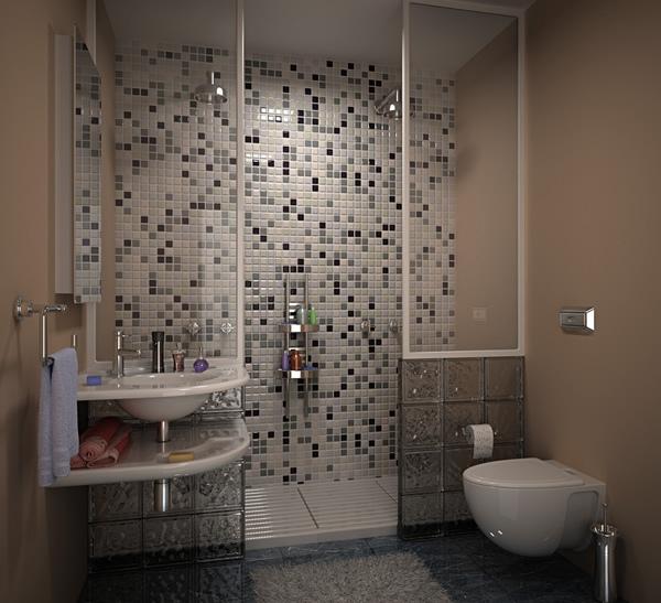 bathroom tile designs layout photo - 10