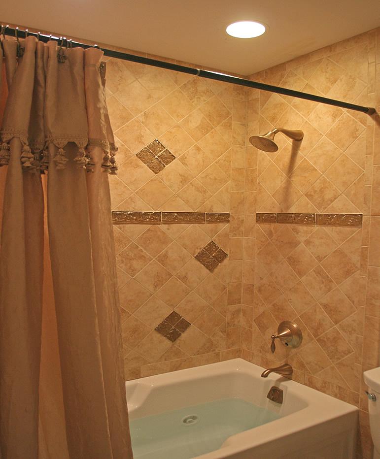 bathroom tile designs layout photo - 4