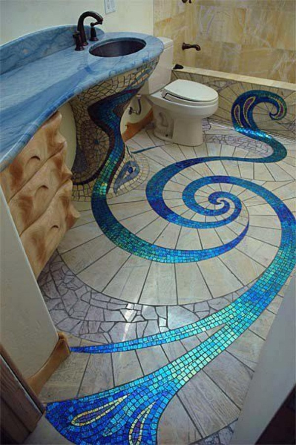 Bathroom tile designs mosaic | Hawk Haven