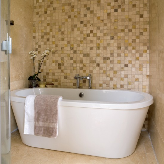 bathroom tile designs mosaic photo - 6