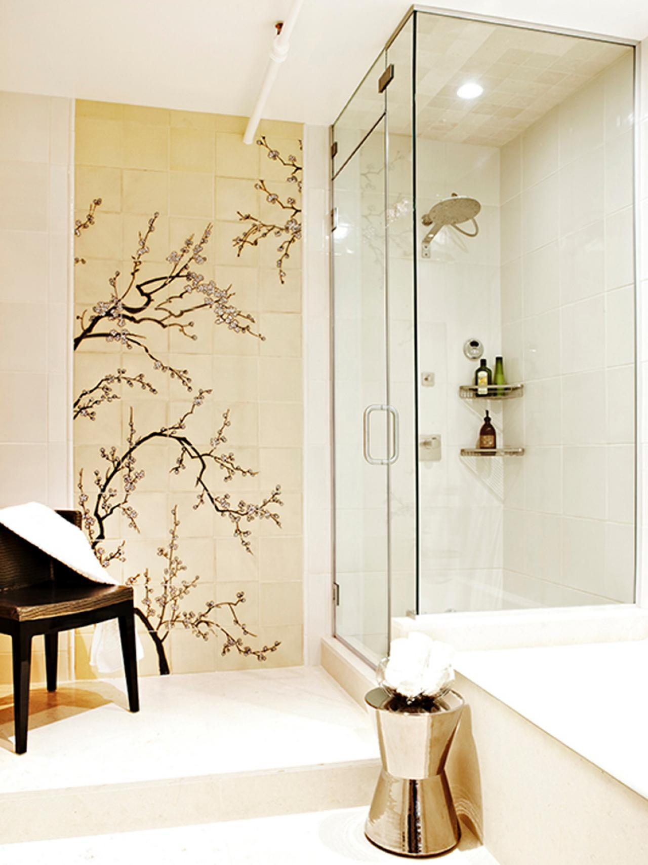 bathroom tile designs mosaic photo - 7