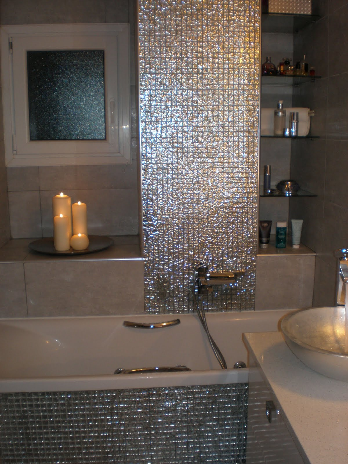 bathroom tile designs mosaic photo - 8