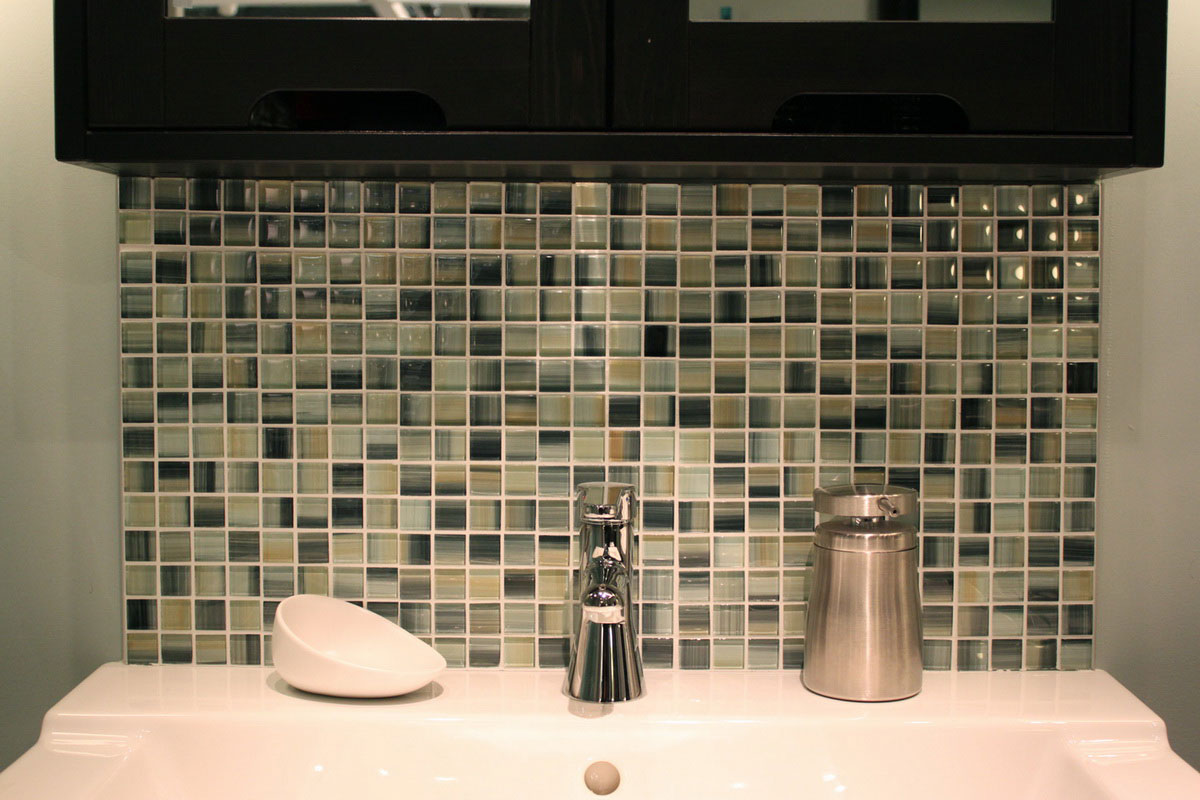 bathroom tile designs mosaic photo - 9