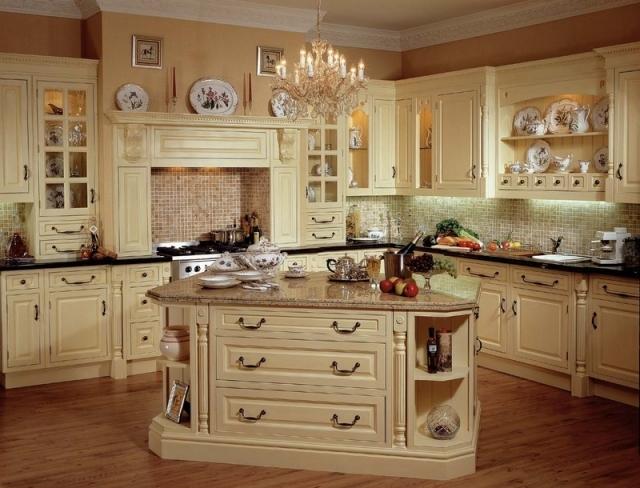 beautiful country kitchen designs photo - 1