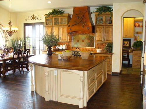 beautiful country kitchen designs photo - 4