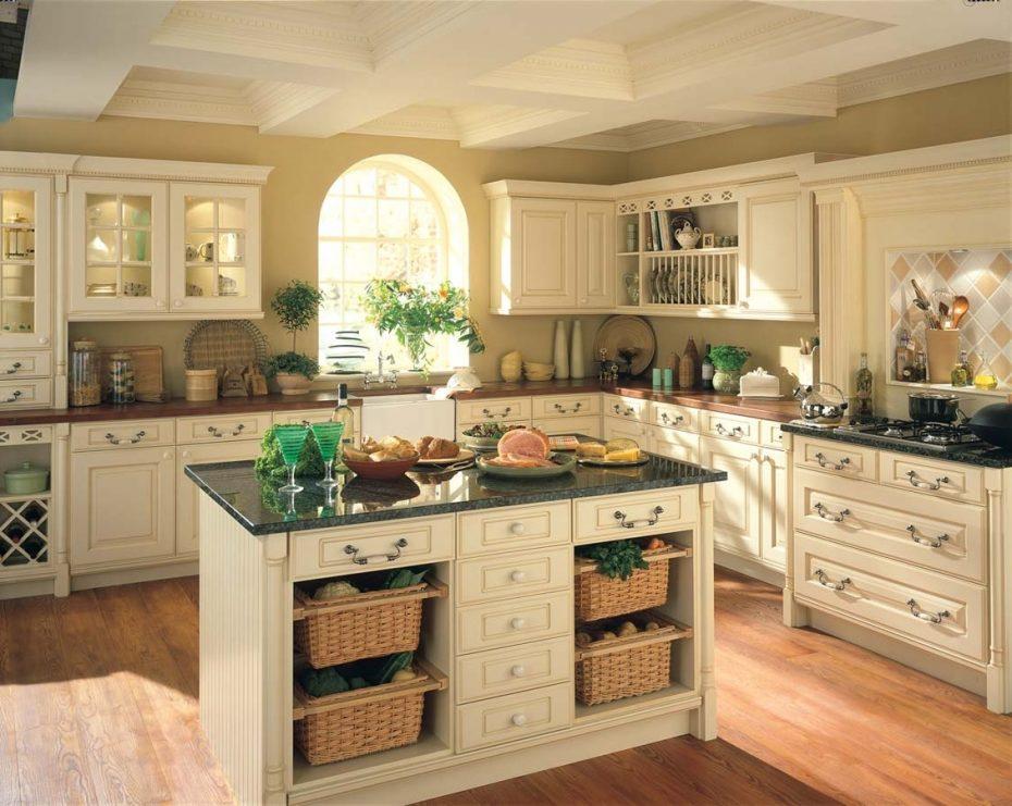 beautiful country kitchen designs photo - 5