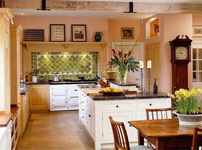beautiful country kitchen designs photo - 6