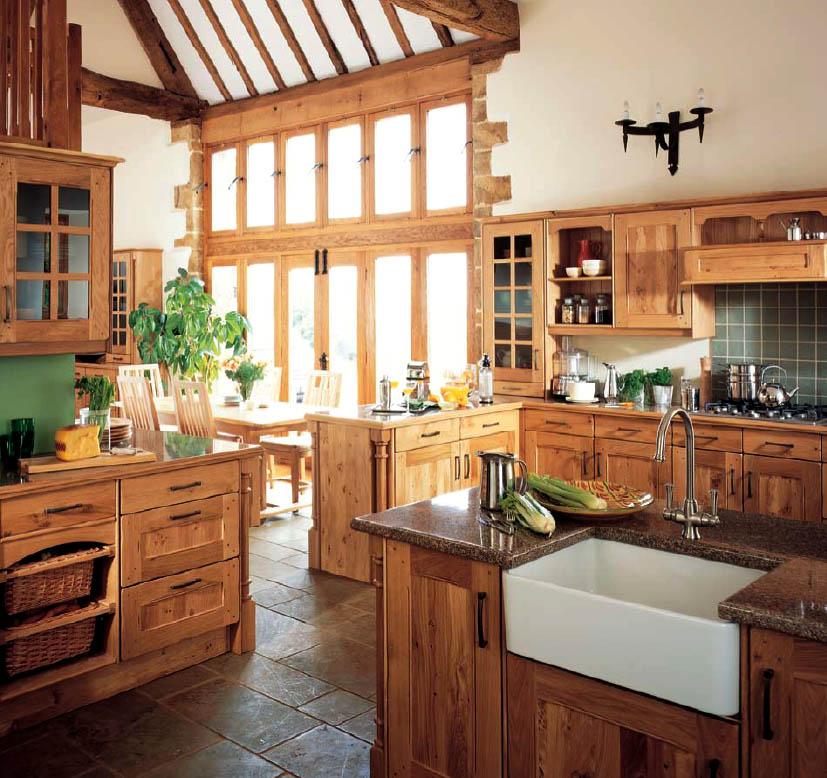 beautiful country kitchen designs photo - 8