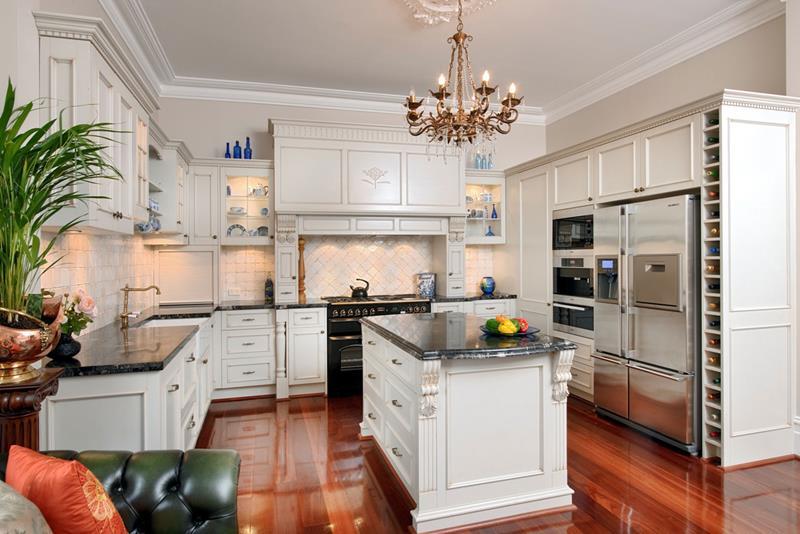 beautiful country kitchen designs photo - 9
