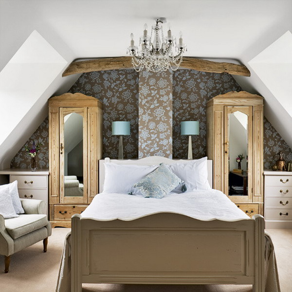 bedroom attic designs photo - 1