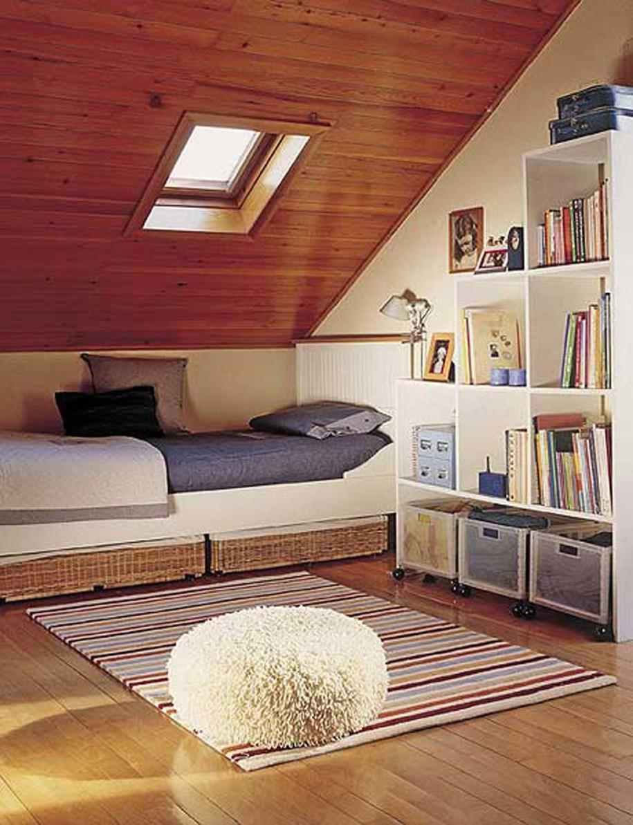 bedroom attic designs photo - 2