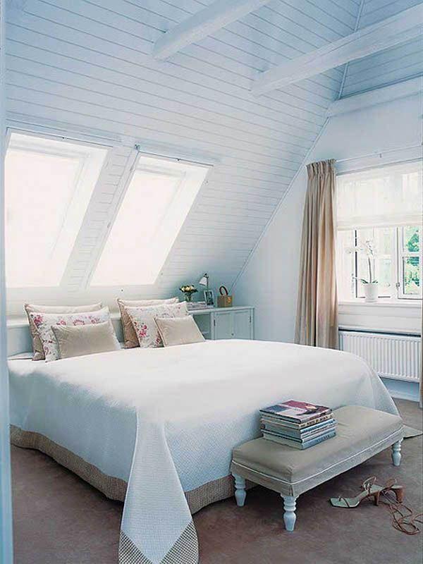 bedroom attic designs photo - 9