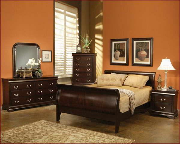 bedroom black furniture paint colors photo - 3