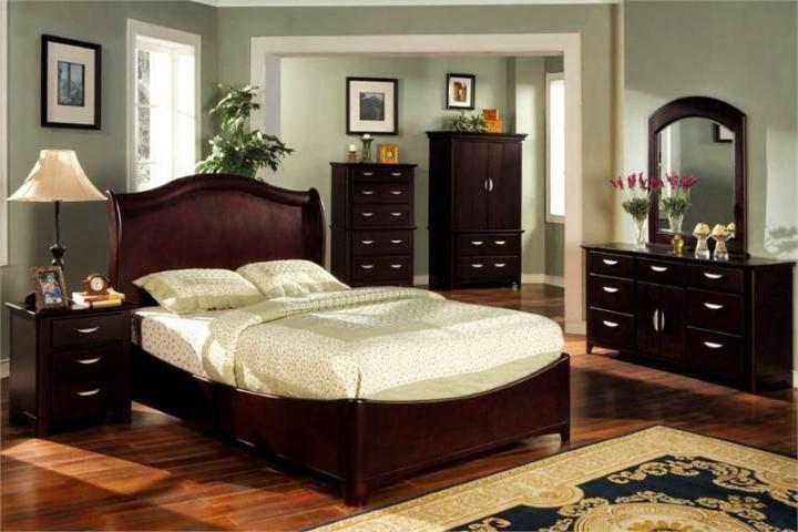 bedroom black furniture paint colors photo - 4