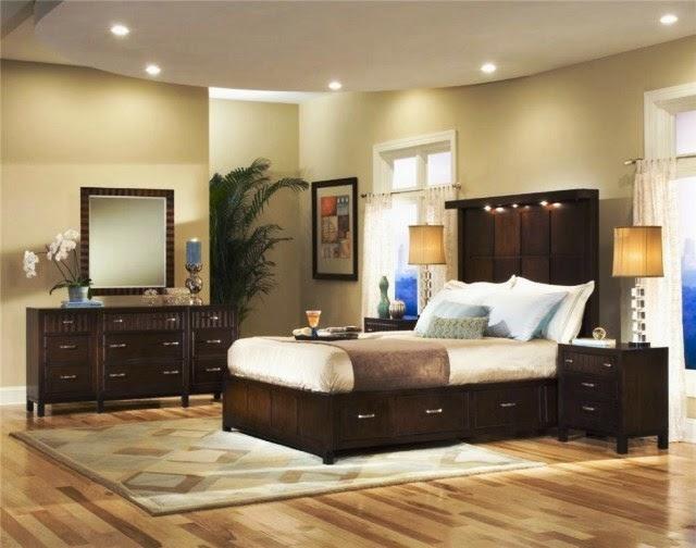bedroom black furniture paint colors photo - 7