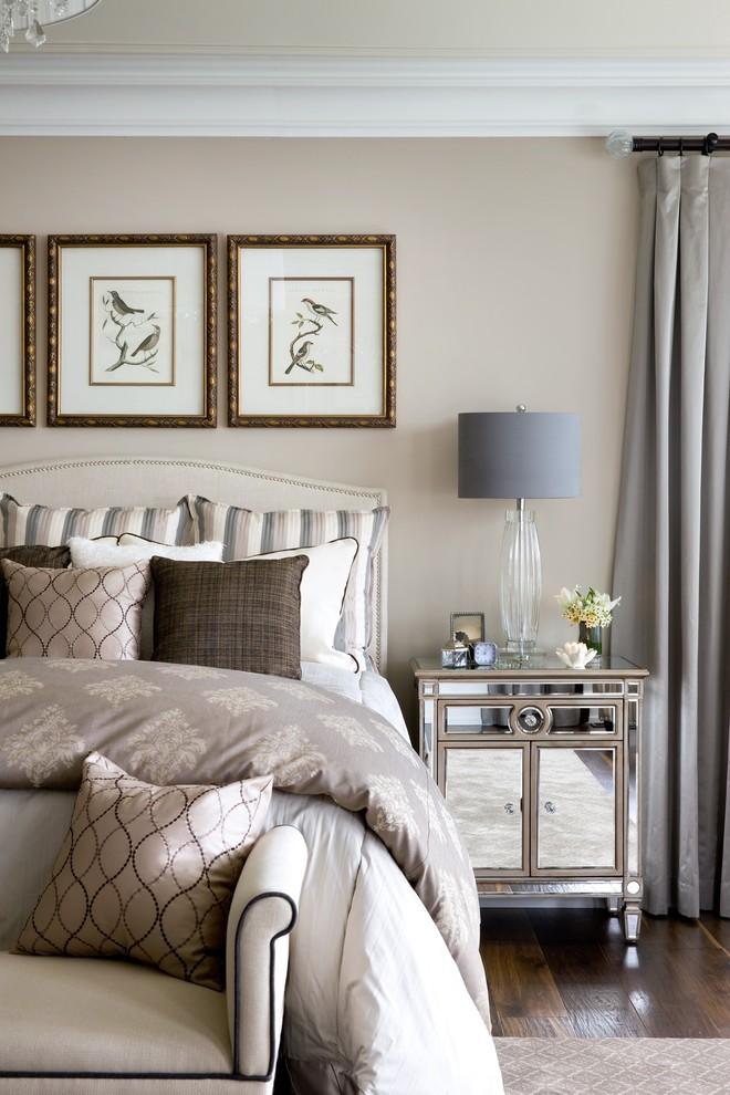 bedroom decorating ideas mirrored furniture photo - 10