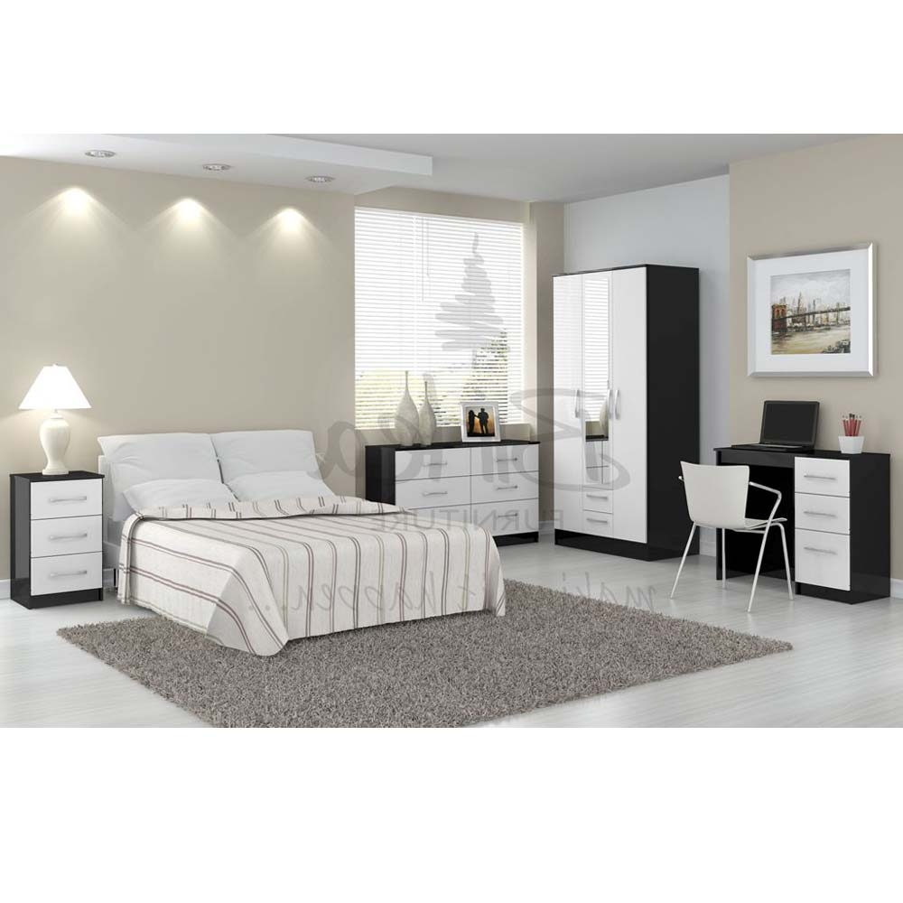 Beau Bedroom Furniture Black White Photo   1