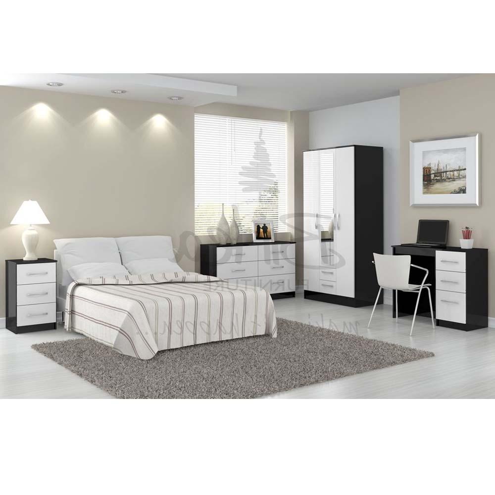 Bedroom Furniture Black White Hawk Haven