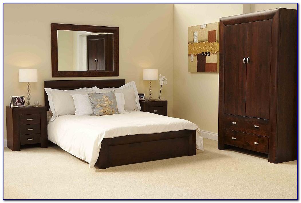 bedroom furniture black wood photo - 2