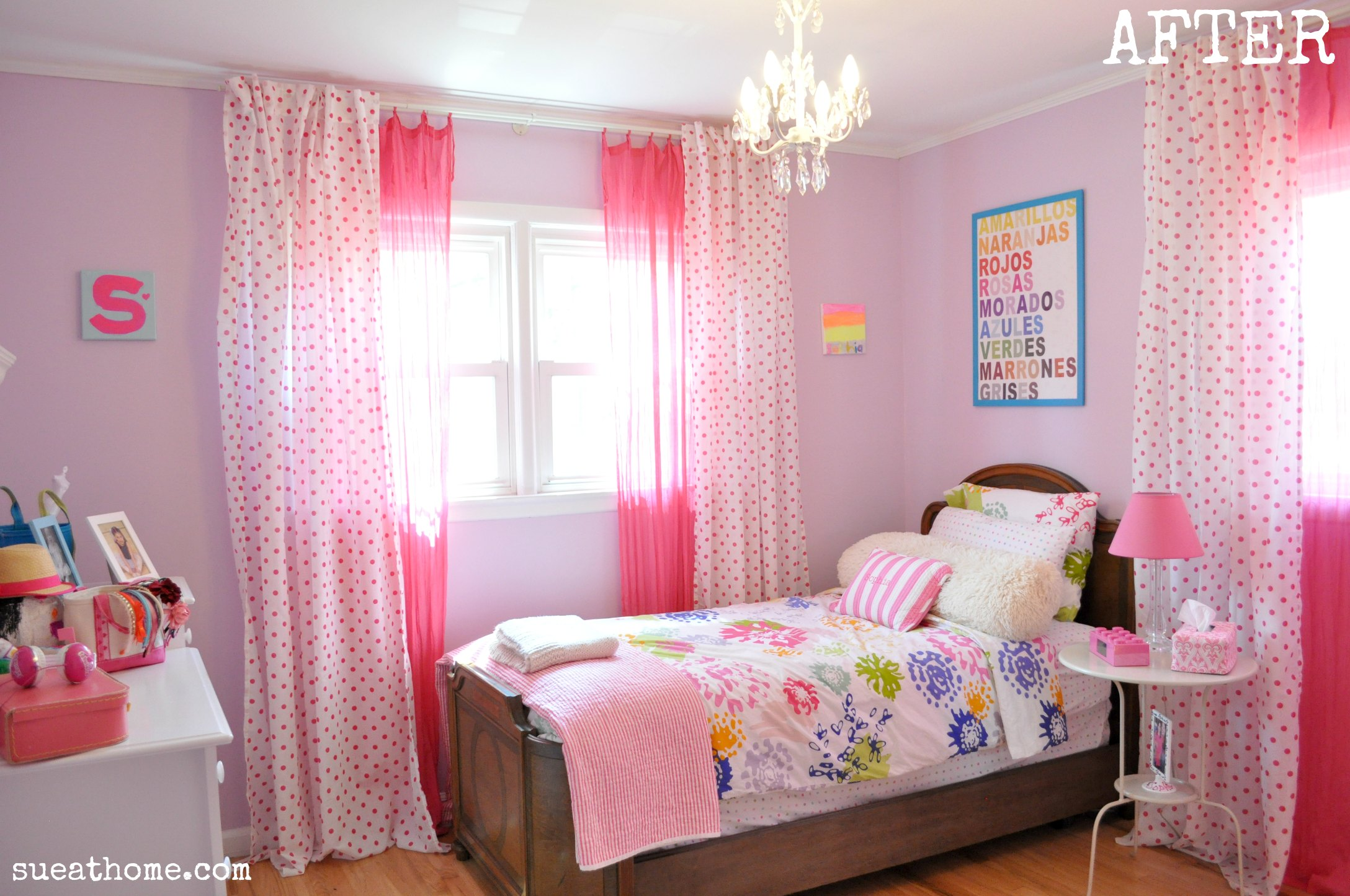 bedroom furniture for a teenage girl photo - 9
