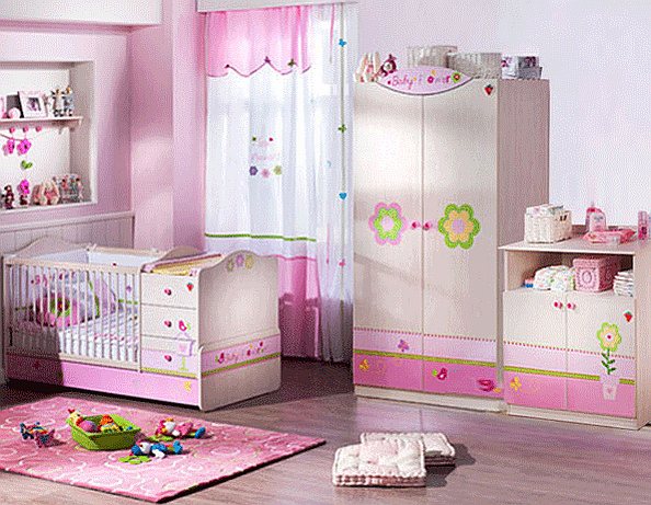 bedroom furniture for baby girls photo - 10